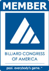 The register trademark of the Billiard Congress of America